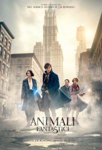 """locandina del film """"Animali fantastici e dove trovarli"""""""