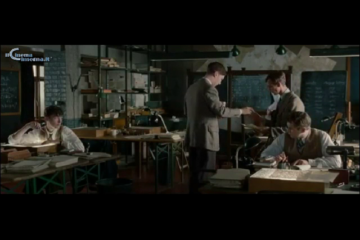 "Scena tratta dal film ""The imitation game"" sul sentiment aziendale"