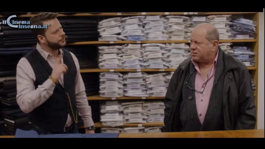 """Scena sulla vendita tratta dalla serie tv """"Altro che caffè"""""""